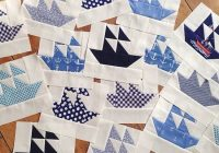 Cool the making of the nautical quilt nautical quilt patchwork 9 Stylish Nautical Quilts Patterns Gallery