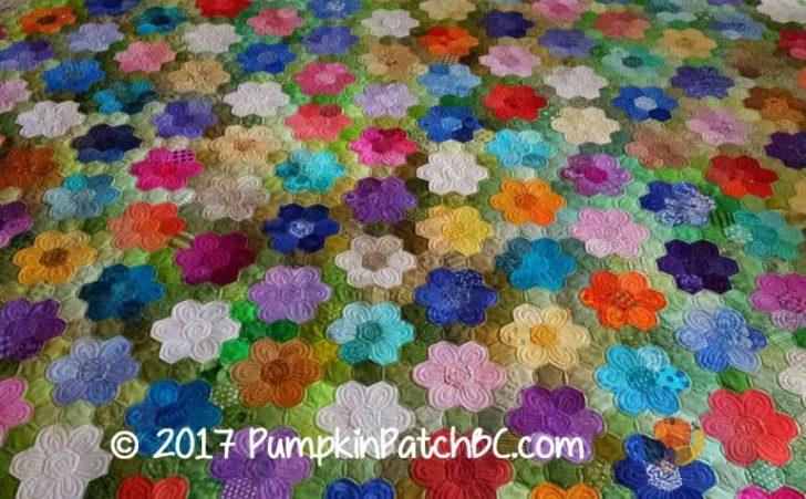 Permalink to 10 Modern Grandmother Flower Garden Quilt Pattern Gallery