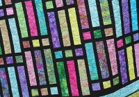 Cool this stained glass quilt is a breeze to make quilting digest 11 Stylish Stained Glass Quilting Patterns Inspirations