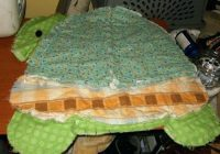 cool turtle rag quilt lferso Interesting Turtle Rag Quilt Pattern