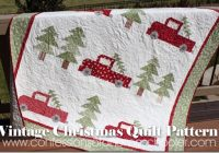 Cool vintage christmas quilt pattern confessions of a homeschooler 11 Unique Christmas Quilt Ideas Gallery