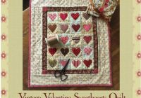 Cool vintage valentine sweethearts quilt pattern 10 Cool Vintage Valentine Quilt Pattern Inspirations