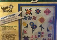 Cool welcome to my garden setting quilt kit joann fabric precut 10   Stylish Baby Quilt Kits Joann Fabrics Inspirations