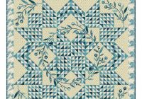 corona quilt pattern edyta sitar laundry basket quilts blue and cream fabrics featuring royal blue from andover lbq 0750 p Beautiful Lovely Laundry Basket Quilts Fabric Inspirations