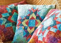 county fair trio pillow quilt pattern Elegant Quilt Patterns For Pillows Gallery