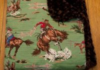 cowboy vintage western ba blankets cowba gear Interesting Vintage Cowboy Quilt Gallery