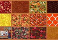Cozy 2 yard stash builder autumn harvest fall theme quilt fabric Interesting Quilting Fabric By The Yard Gallery
