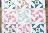 Cozy 25 free ba quilt patterns tutorials polka dot chair Cozy Baby Quilt Patterns Gallery