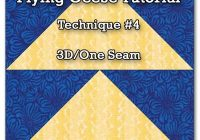 Cozy 3d flying geese quilt block 11 Stylish Flying Geese Quilt Pattern Instructions Inspirations