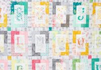 Cozy a to z quilt kit tamara kate designs featuring michael 11 Elegant Michael Miller Quilt Patterns Inspirations
