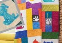 Cozy adventures in fusible appliqu with dog quilt patterns 9 Beautiful Dog Quilting Pattern Inspirations