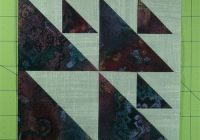 Cozy aircraft quilt block from our free quilt block patterns library Stylish Airplane Quilt Block Pattern