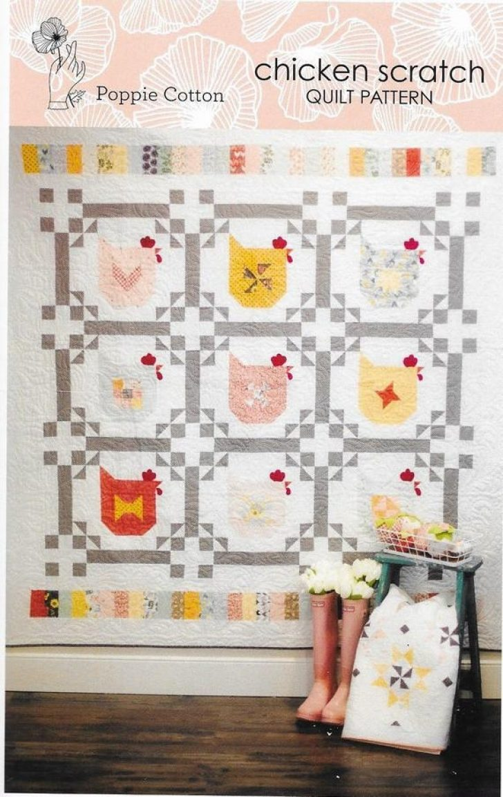 Permalink to 11 Stylish Chicken Scratch Quilt Pattern Inspirations