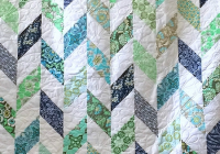 Cozy dig into your stash for this charming quilt quilting digest 11   Daisy Chain Quilt Pattern