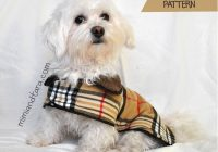 Cozy dog coat pattern pdf pattern mimi tara 10 Modern Quilted Dog Coat Pattern Gallery