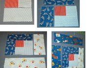 Cozy easy log cabin quilt block pattern 9   Easy Log Cabin Quilt Pattern