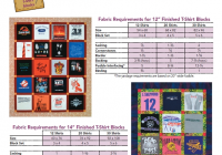 Cozy easy t shirt quilt fab req 591600 tshirt quilt 10 Cool T Shirt Quilt Pattern Instructions Inspirations