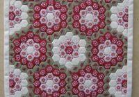 Cozy english paper piecing patchwork hexagon patchwork english Cool Hexagon Quilt Patterns Designs