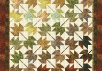Cozy fall leaves fall designer pattern robert kaufman fabric 9 Interesting Falling Leaves Quilt Pattern Gallery