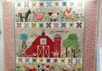 Cozy farm sweet farm quilt kit using farm girl vintage lori 11 Interesting Farm Girl Vintage Quilt Kit