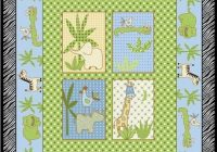 Cozy fleece fabric ba fleece prints panels cotton flannel 9 Cool Baby Quilt Panel Fabric