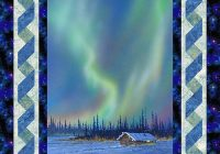 Cozy free pattern alaskas northern lights equilter 10 New Northern Lights Quilt Pattern
