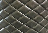 Cozy gray 2 tone vinyl faux leather quilted upholstery fabric Interesting Vinyl Quilted Fabric Gallery
