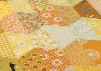 Cozy half hexagon quilt 11 Unique Half Hexagon Quilt Pattern Gallery