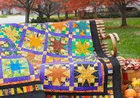 Cozy halloween quilts allpeoplequilt 11 Modern Halloween Quilts Patterns