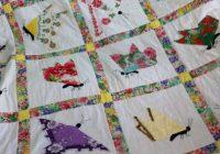 Cozy hankie quilt quilts vintage handkerchiefs crafts quilt 9 Unique Handkerchief Quilt Pattern Inspirations