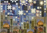 Cozy houses under a starry night crazy quilts quilts quilt 10   Crazy Patchwork Quilt Patterns Inspirations