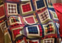 Cozy love the look of this seems pretty easy to make flannel 11 Interesting Easy Flannel Quilt Patterns