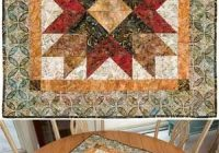 Cozy north star potholders for any season quilts small quilt Modern Northstar Quilted Potholder Pattern Gallery