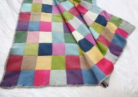 Cozy patchwork blanket extract from winter knits made easy 11 Modern Knitted Patchwork Quilt Patterns