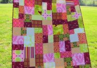 Cozy patchworkquiltpatterns 50×70 patchwork quilt in random Unique Random Patchwork Quilt Pattern Gallery