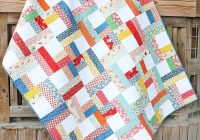 Cozy precut parade free jelly roll pattern the jolly jabber 11 Beautiful Quilt Patterns From Jelly Rolls