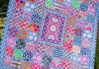 Cozy quilt inspiration free pattern day kaffe fassett quilting 10 Cool Kaffe Fassett Quilt Patterns