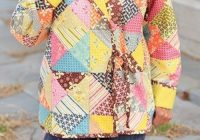 cozy quilted jacket pattern sewing quilting and such Stylish Quilted Sweatshirt Pattern Inspirations