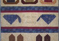 Cozy ride em cowboy boy ba quilt pattern boys quilt patterns 10 Cool Western Themed Quilt Patterns