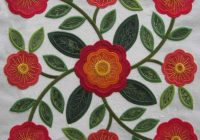 Cozy rose of sharon 10 Beautiful Rose Of Sharon Quilt Pattern Inspirations