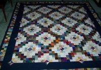 Cozy scrappy double irish chain with a twist quilt pattern 10   Double Irish Chain Quilt Pattern Queen