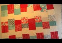 Cozy sewing together the red and turquoise quilt 9 Stylish Cloud Nine Quilt Pattern Inspirations
