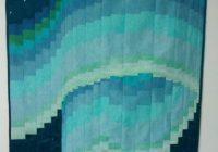 Cozy silk northern lights bargello quilt 48×36 northern 10 New Northern Lights Quilt Pattern