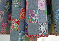 Cozy simple is beautiful in these checkerboard quilts quilting 9   Checkerboard Quilt Pattern Gallery