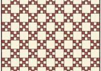 Cozy single irish chain quilt patterns and blocks 10   Double Irish Chain Quilt Pattern Queen