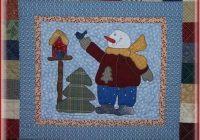 Cozy snowman collector bom orrin pattern only blk 01 quilts 10 Unique Snowman Quilt Patterns Applique
