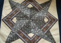 Cozy star quilt block pattern 9 Cool Large Quilt Block Patterns