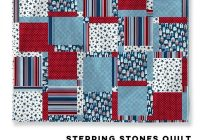 Cozy stepping stones quilt bella pineapple pack pattern 11 Unique Stepping Stones Quilt Pattern