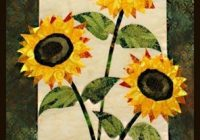 Cozy sunflower quilt pattern sunflower quilts quilt patterns 10 Interesting Sunflower Quilt Pattern For Beginners Gallery