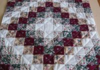 Cozy the easiest trip around the world heres the layout 10 Beautiful Trip Around The World Quilt Pattern Gallery